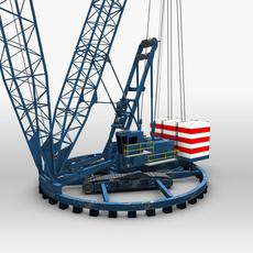 Ringer Crane 3D Model