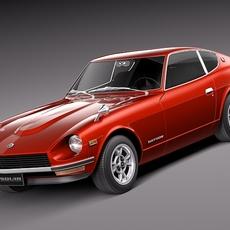 Datsun 240z 1969-1978 3D Model