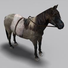 Ponies Pack 3D Model