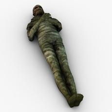 Mummy character 3D Model