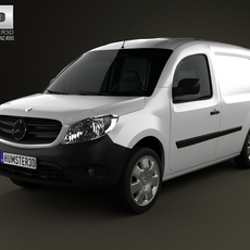 Mercedes-Benz Citan Panel Van 2012 3D Model