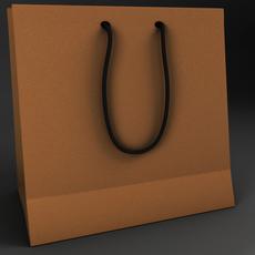 Paper bag 3D Model