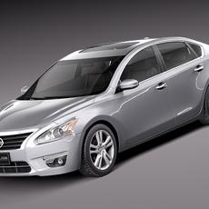 Nissan Altima Sedan 2013 3D Model