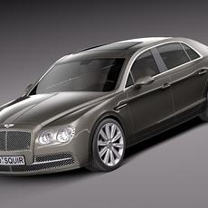 Bentley Flying Spur 2014 3D Model
