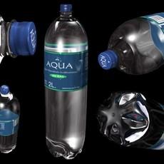 Bottle of Water 3D Model
