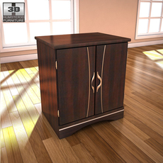 Ashley Julianna Nightstand 3D Model