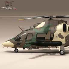 AW109LUH South Africa 3D Model