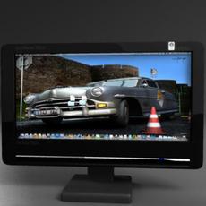 TFT computer monitor 3D Model