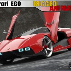 Ferrari Ego concept 3D Model