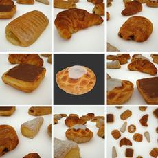 Pastry 6 Coffeecake 3D Model