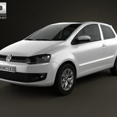 Volkswagen Fox 3-door 2012 3D Model