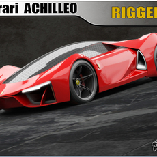 Ferrari Achilleo concept 3D Model