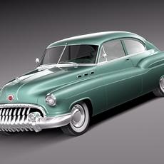 Buick Sedanette 1950 3D Model