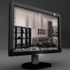 TFT screen 3D Model