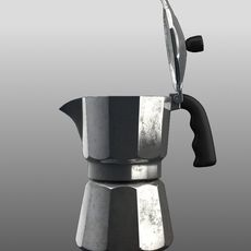 Old Moka Pot 3D Model