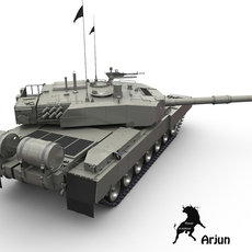 Arjun Untextured 3D Model