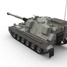 AS-90 Braveheart 3D Model