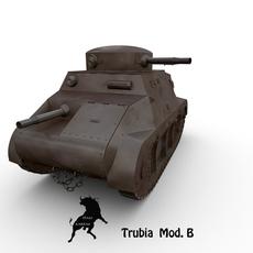Trubia Mod.B de 1937 3D Model