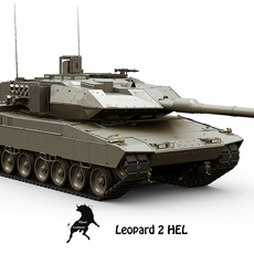 Leopard 2 HEL 3D Model