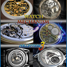 Watch mechanism coll 3 3D Model