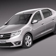 Dacia Logan 2013 3D Model