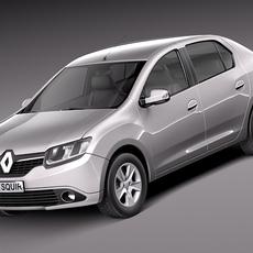Renault Symbol 2013 3D Model