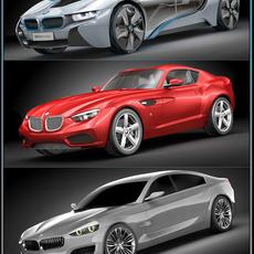 BMW concept pack 2 3D Model