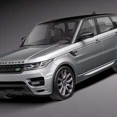 Range Rover Sport 2014 3D Model