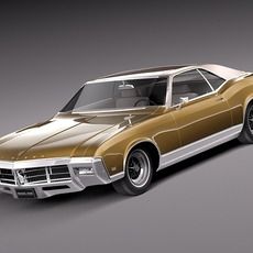 Buick Riviera 1969 3D Model