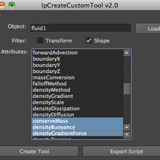 Create Custom Tool for Maya 2.1.0 (maya script)