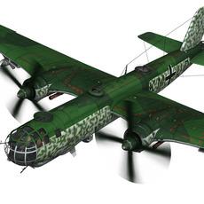 Heinkel He-177 A-5 - Greif - 6./KG 100 3D Model