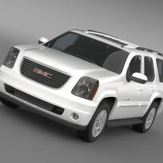GMC Yukon XFE 2009 3D Model