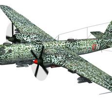 Heinkel He-177 A-5 - Greif - Navy 3D Model