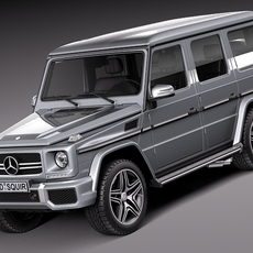 Mercedes-Benz G63 AMG 2013 3D Model