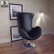 Occasional Chair - Andomeda Chair - Zuo Modern 3D Model