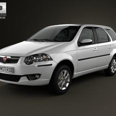 Fiat Palio Weekend 2012 3D Model