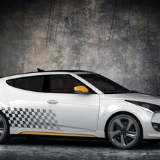 Hyundai Veloster Turbo 3D Model