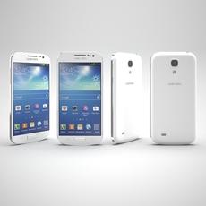 Samsung Galaxy S4 Mini White 3D Model