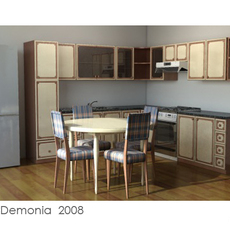 Kitchen 01 3D Model