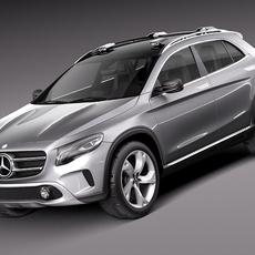 Mercedes Benz GLA Concept 2013 3D Model