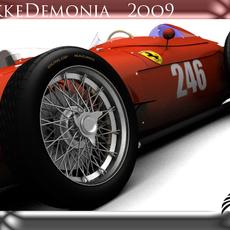 Ferrari F246 Dino 3D Model