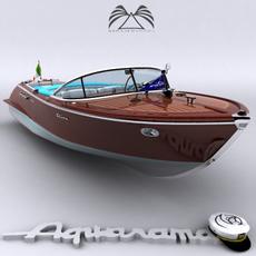 Riva Aquarama 3D Model