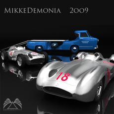 Mercedes Benz F1 Team 3D Model