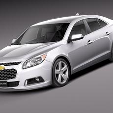 Chevrolet Malibu 2014 3D Model
