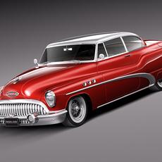 Buick Super Riviera Coupe 1953 3D Model
