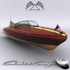 Chris Craft Cobra 1955 3D Model