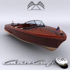 Chris Craft Capri 1955 3D Model