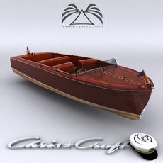 Chris Craft Sportsman 1950 3D Model