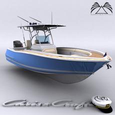 Chris Craft Catalina 26 3D Model