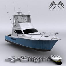 Ocean 37 Billfish 3D Model